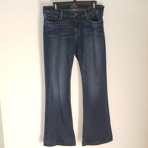 Lucky Brand Brooke Flare Denim Jeans